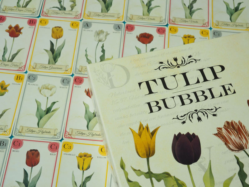 Especulando en el mercado de los tulipanes