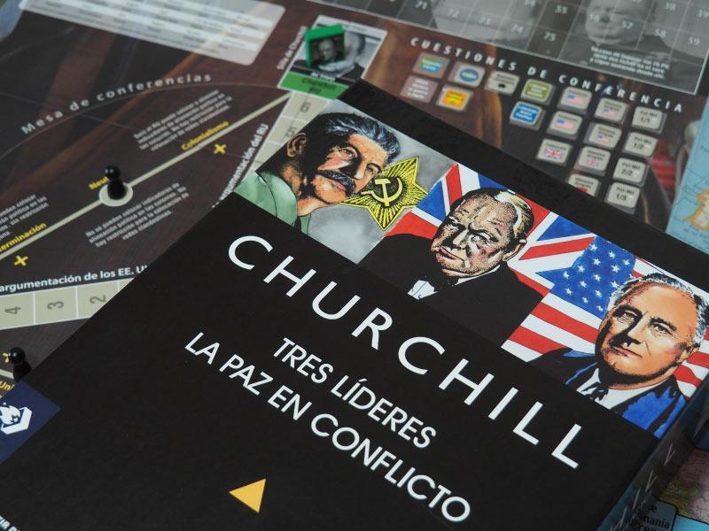 Churchill, un juego de conflicto político