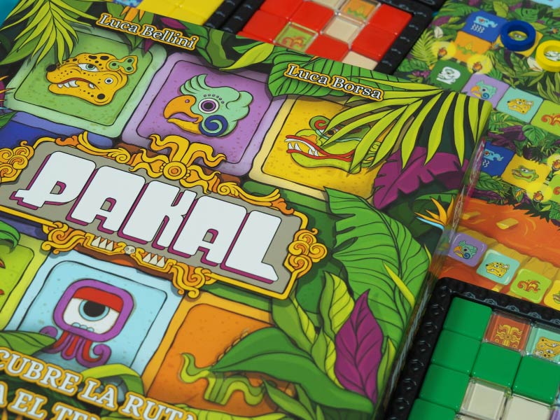 Pakal, un juego de habilidad deslizante
