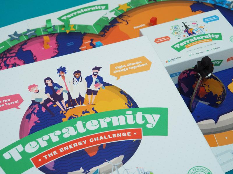 Terraternity un juego ecológico y educativo