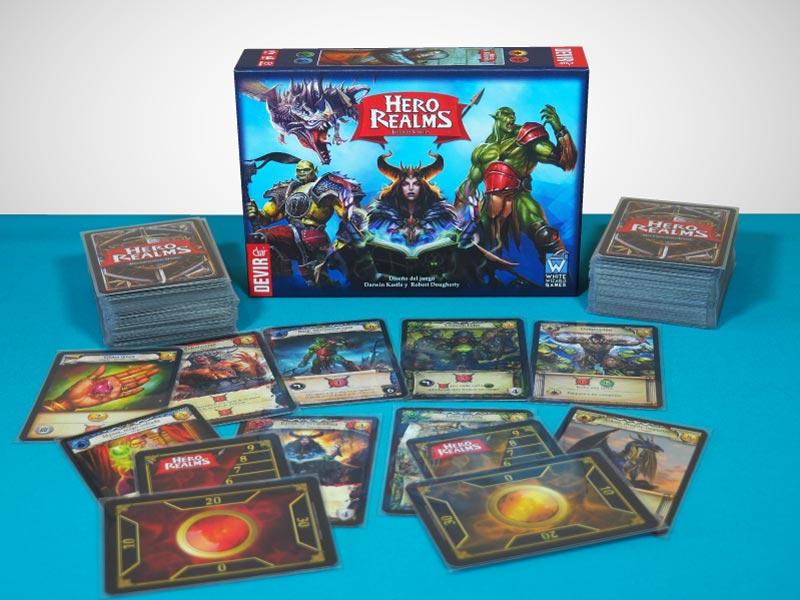 Hero Realms, un deckbuilding para 2 jugadores